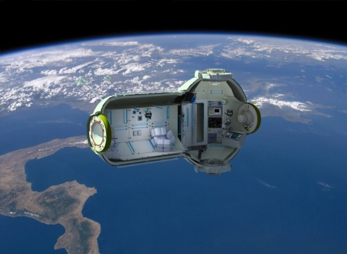 Космический отель - всё, что нужно вдали от дома.