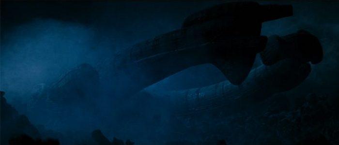 Космический корабль «Derelict».
