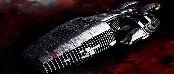 Космический корабль «Battlestar Galactica».