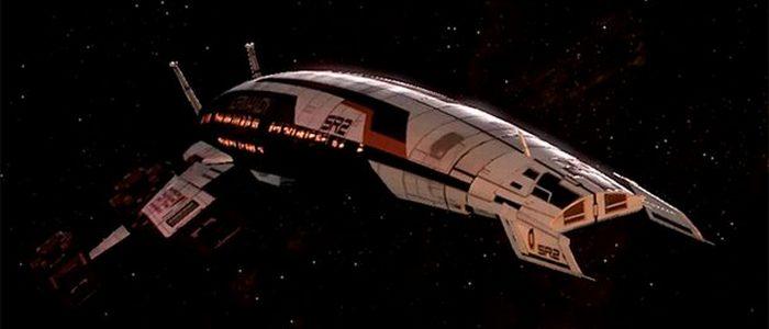 Космический корабль «Normandy SR-2».
