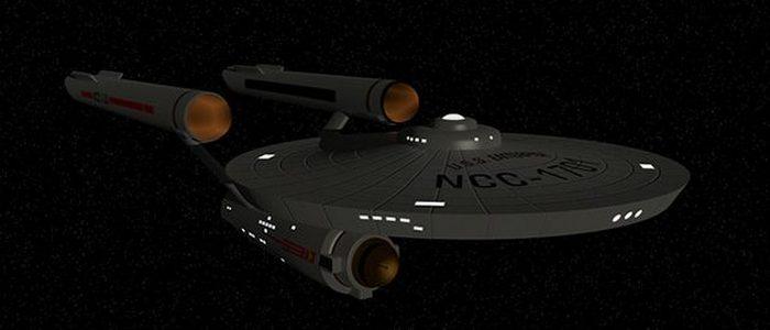 Космический корабль «USS Enterprise».