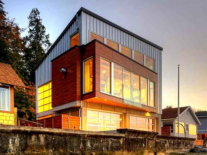 Цунами-хаусы студии Designs Northwest Architects