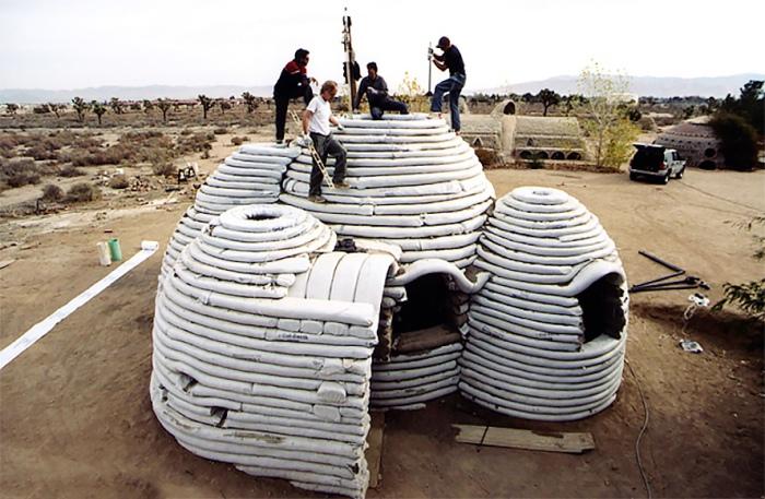 Земляные жилища от Cal-Earth