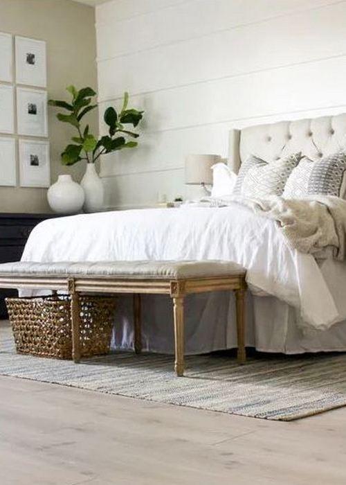 Место для хранения вещей: «В конце кровати».