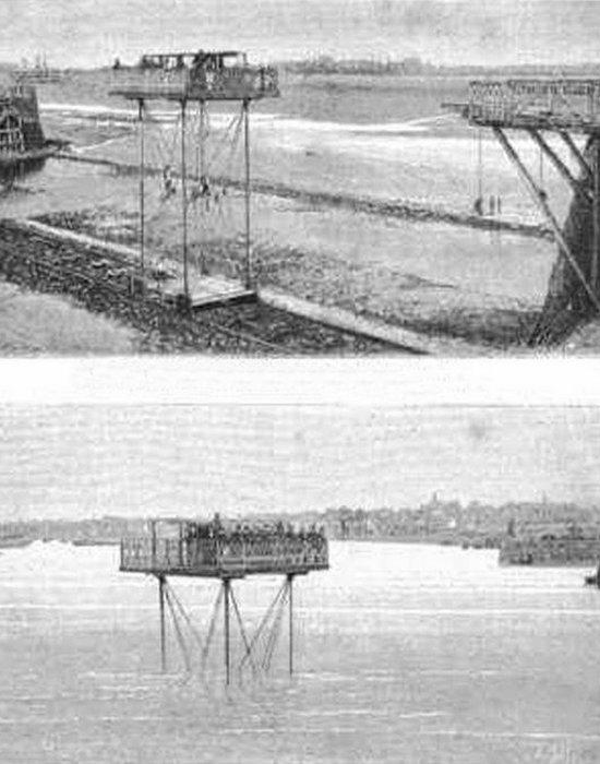 Странное изобретение: перекатной мост.