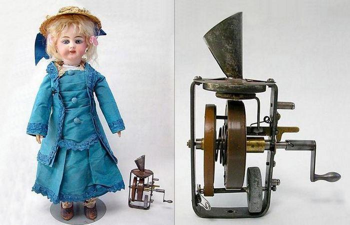 Странное изобретение: говорящие куклы Эдисона.