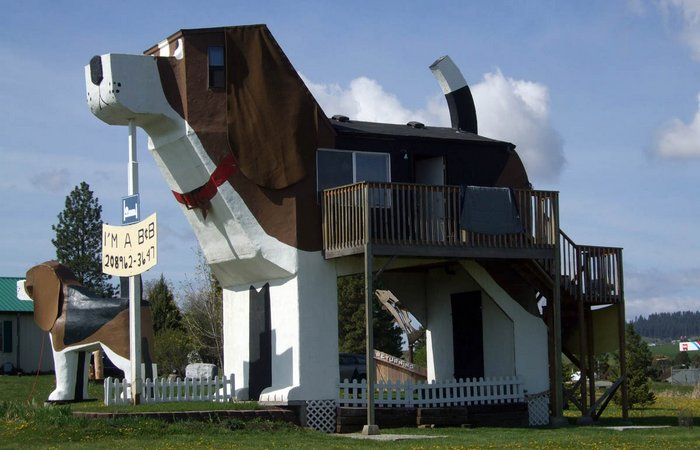 Необычный отель «Dog Bark Park Inn».