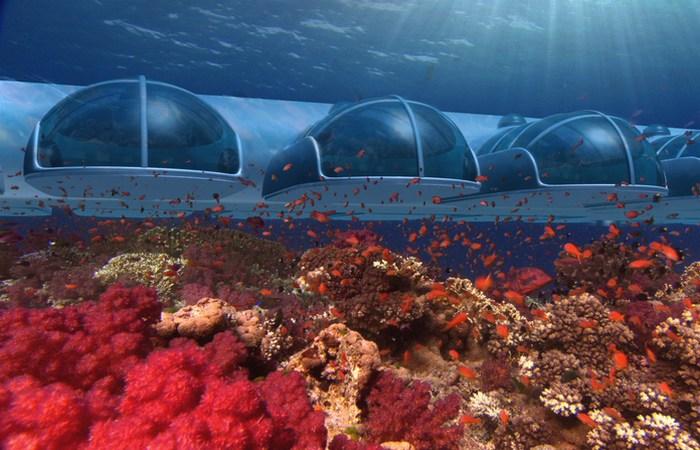 Необычный отель «Poseidon Undersea Resort».