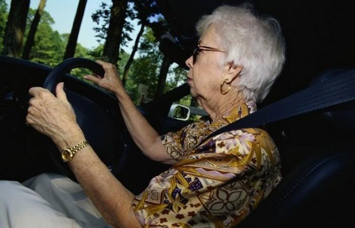 Большинство проваленных экзаменов на вождение.