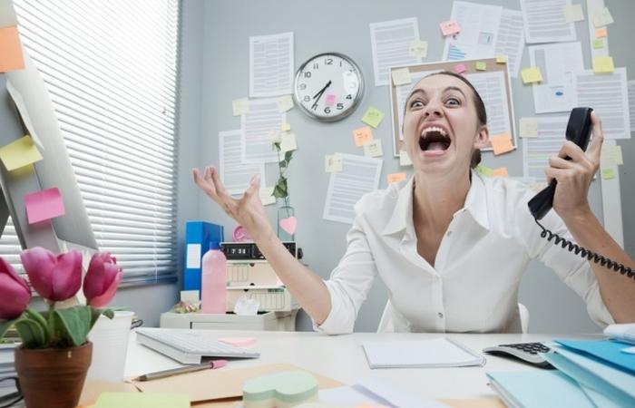 Стресс на работе - это будни.