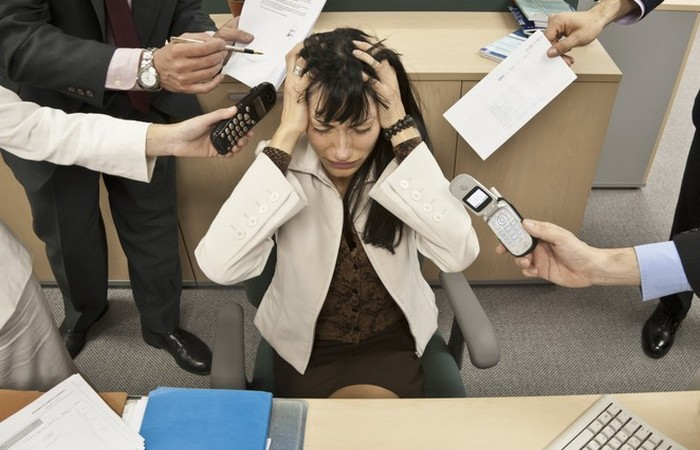 Перманентный стресс.