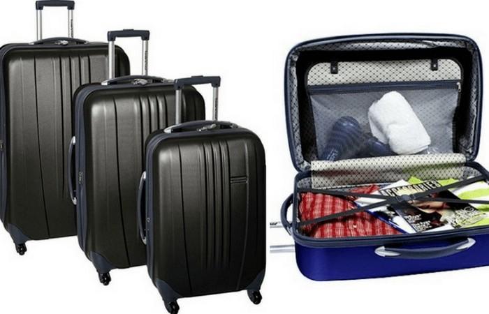 Набор из трех чемоданов Traveler's Choice Luggage Toronto.