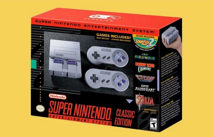 Супер-гаджет 2017: «Super Nintendo Entertainment System».
