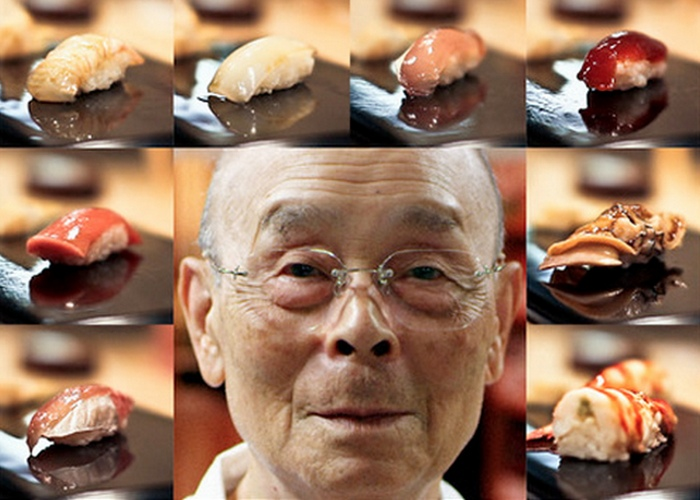 Шеф-повар Джиро Оно.