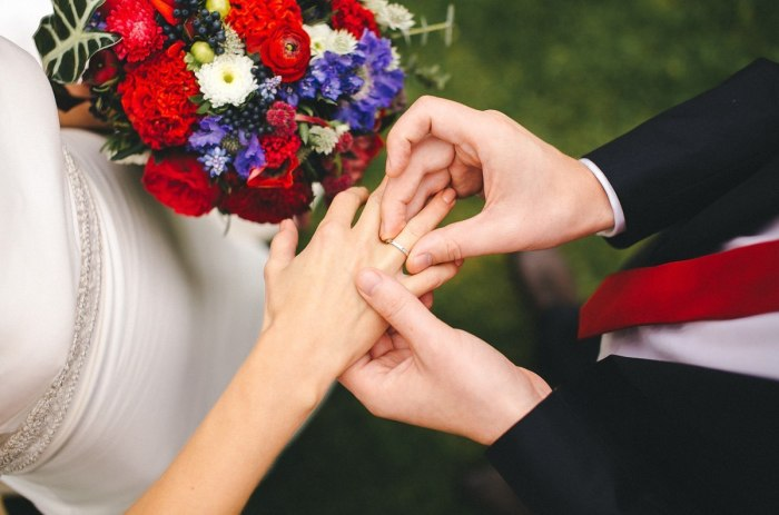 Услуги по проведению бракосочетаний