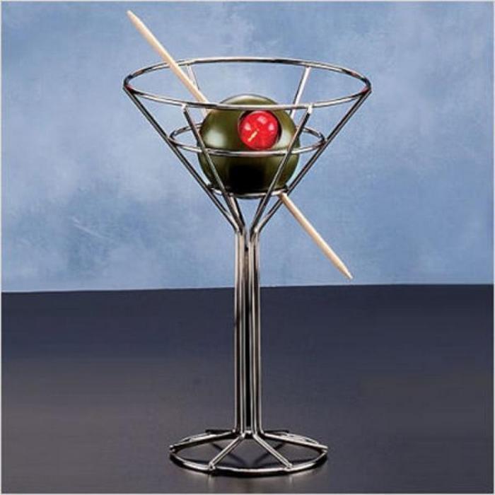 Минималистичная лампа-мартини.