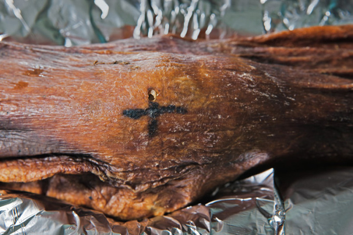 Татуировки мумии Эци.