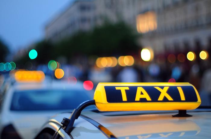 Таксисты, любящие наживу.
