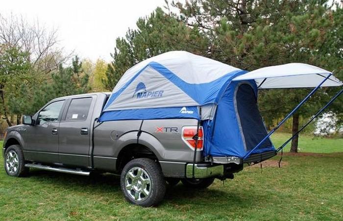 «Домик», который всегда со мной: палатка-грузовик.