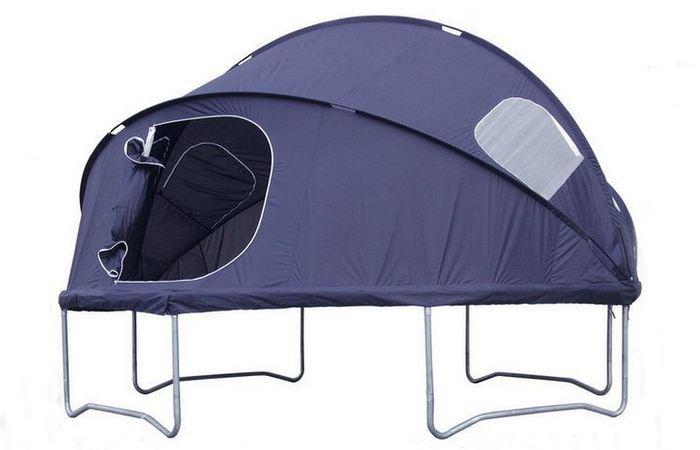 «Домик», который всегда со мной: палатка-батут.