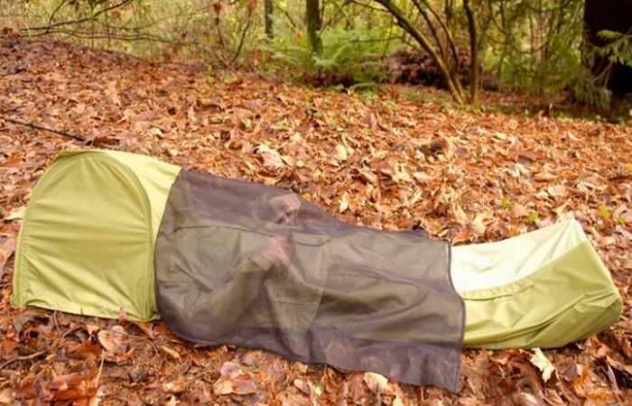 «Домик», который всегда со мной: палатка-куртка.