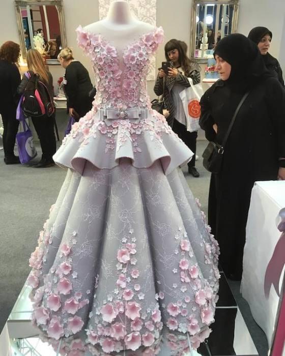 Торт-платье.