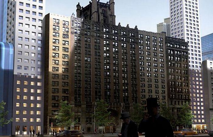 Первые этажи небоскреба «Сlip».