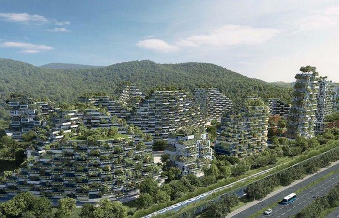 Форест-Сити в китайском Лючжоу.
