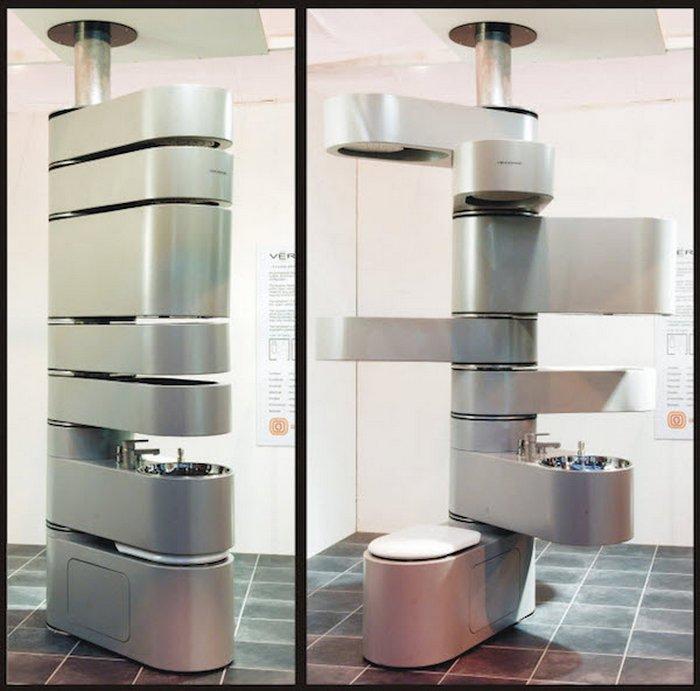 Швейцарский складной нож в мире туалетов.