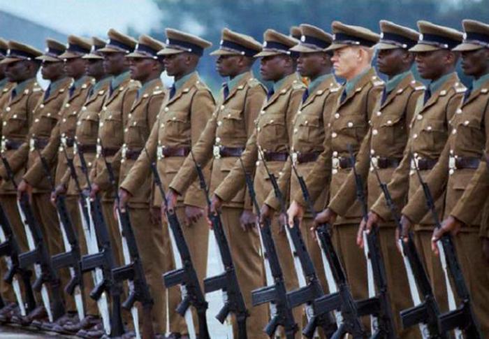 Сухопутные войска ЮАР.
