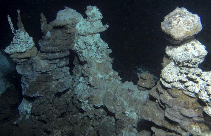 Был скрыт под водой «Замок Локи».