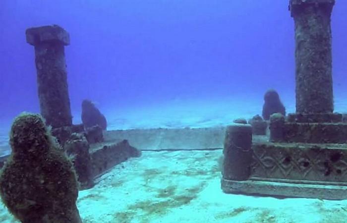 Был скрыт под водой город Дварака.