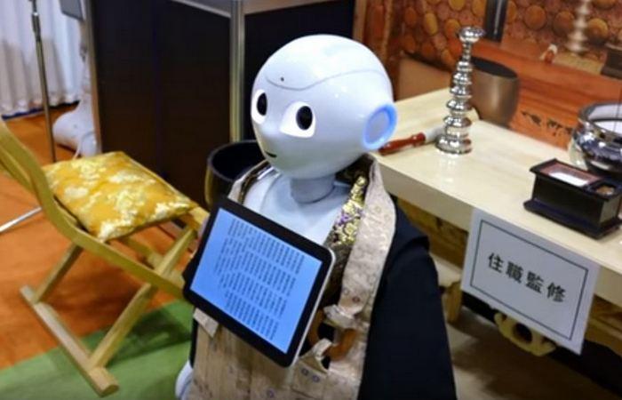 Странный функционал робота: буддийский монах.