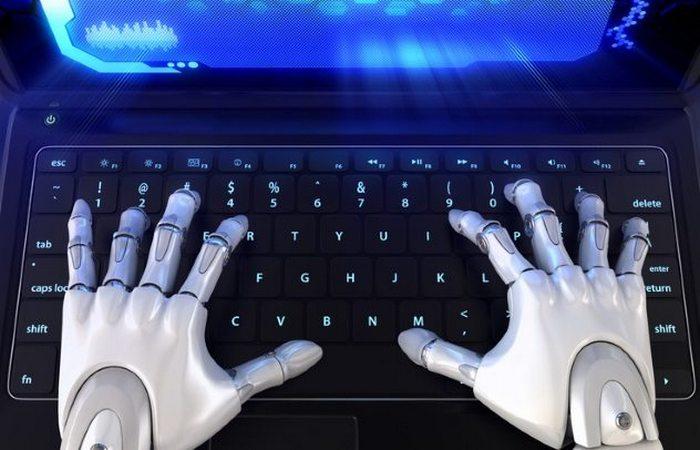 Странный функционал робота: писатель.