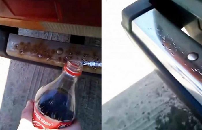 Полезный совет: Coca-Cola - средство для чистки кастрюль и сковородок.