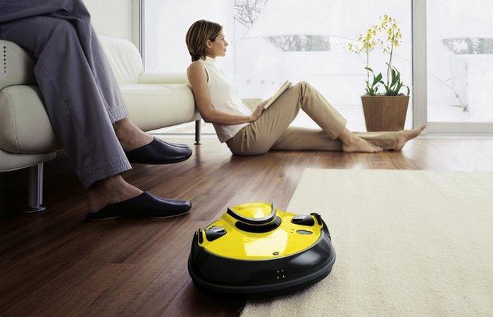 Роботизированные пылесосы.