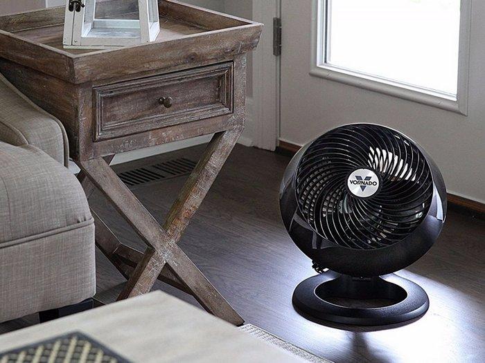 Лучший электрический вентилятор в целом Vornado 660 Large Whole Room Air Circulator.