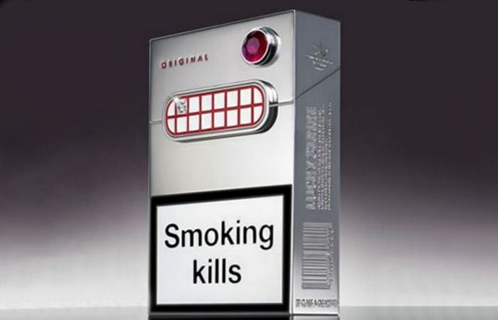Вызывающая роскошь: сигареты «Lucky Strike».