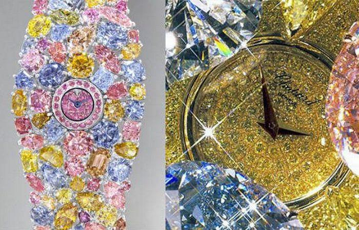 Вызывающая роскошь: часы «Chopard».