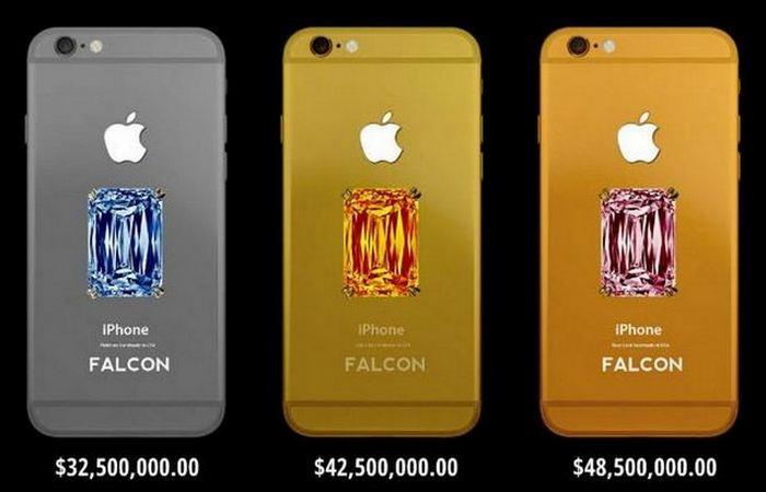 Вызывающая роскошь: мобильный телефон «Falcon Supernova iPhone 6».