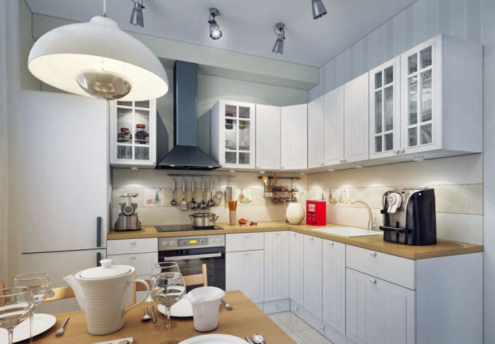 Свет как один из важнейших элементов кухни.