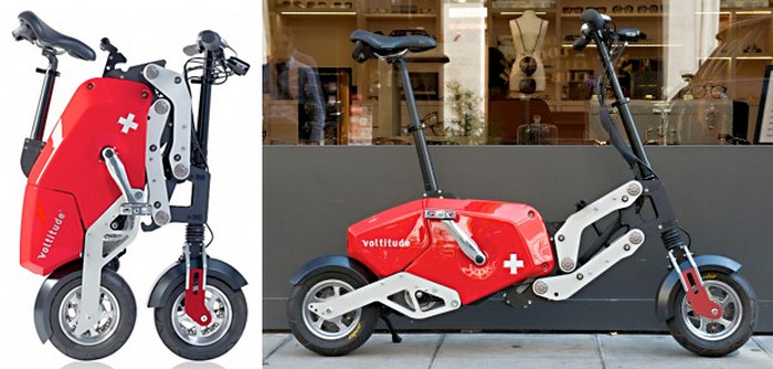«Швейцарский армейский» электрический велосипед