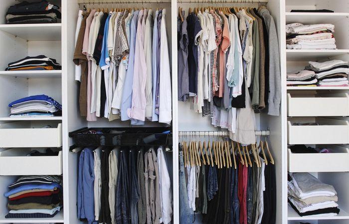 Порядок в шкафу - удобно и приятно.