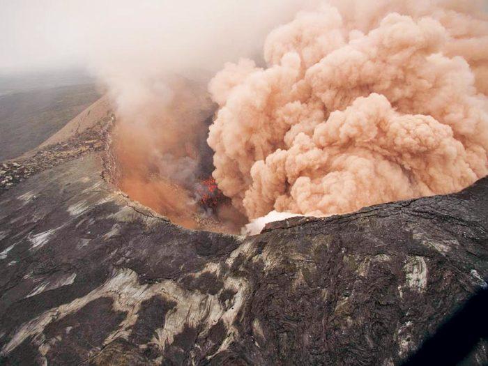 Осторожно! Смотреть под ноги! Вулканы.