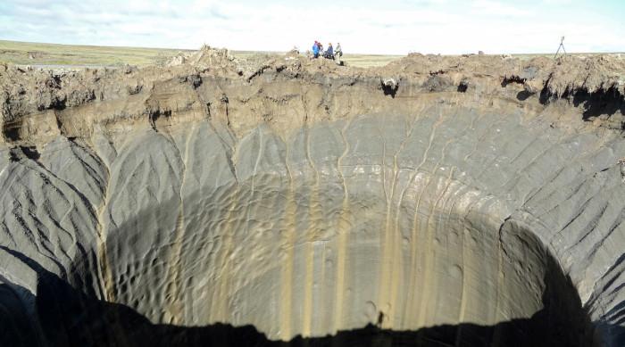 Осторожно! Смотреть под ноги! Сибирские кратеры.