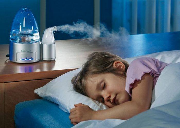 Полезный «зимний» гаджет: увлажнитель воздуха.