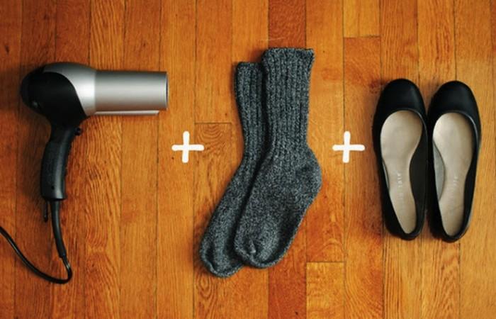 Проблема решена: пара толстых носков.
