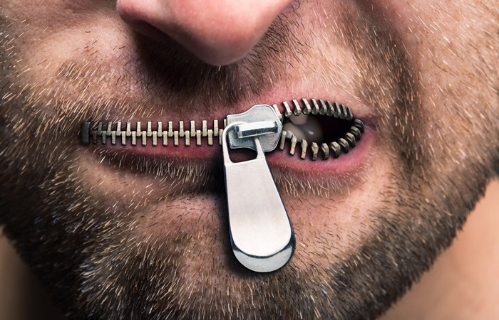 Молчать и говорить нужно правильно.