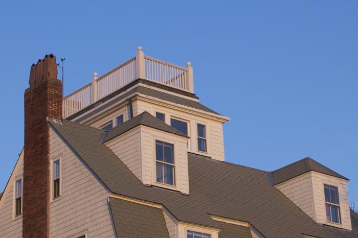 Вдовьи площадки на крышах.