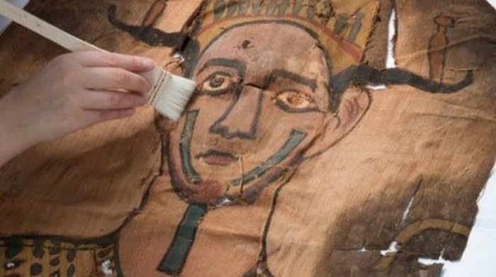 Уникальный саван <br> из египетской коллекции.